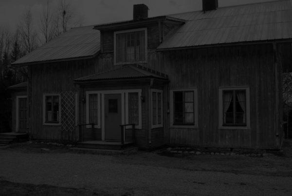 Spökjakt - Prästgården Borgvattnet