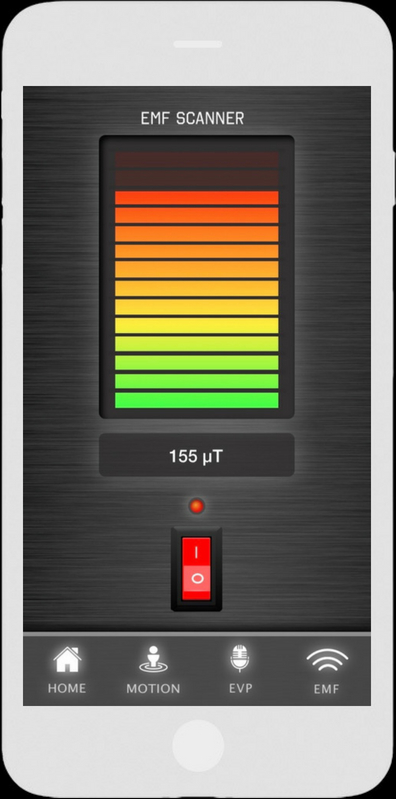 EMF-scanner - Ghost Tracker EMF EVP Recorder App - LaxTon Ghost Sweden