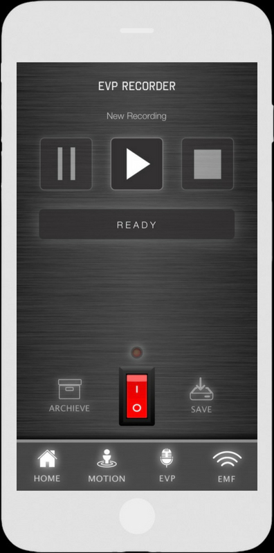 EVP Voice Recorder - Ghost Tracker EMF EVP Recorder App - LaxTon Ghost Sweden