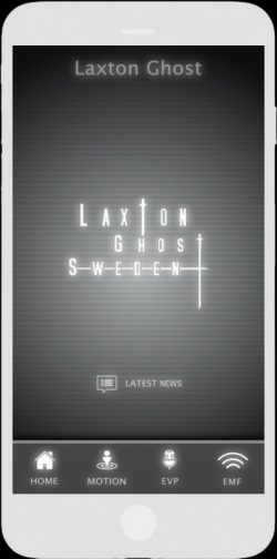 Ghost Tracker EMF EVP Recorder App - LaxTon Ghost Sweden