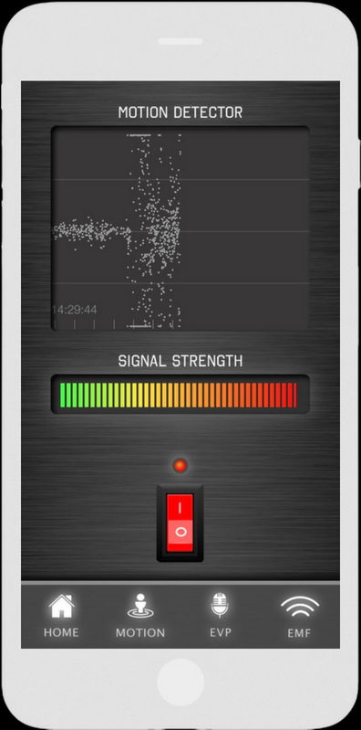 Motion Detector - Ghost Tracker EMF EVP Recorder App - LaxTon Ghost Sweden