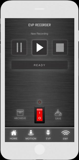EVP Recorder - Spökjägar App - LaxTon Ghost Sweden