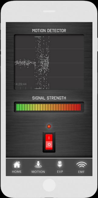 Spökjägar App - Motion Detektor - LaxTon Ghost Sweden