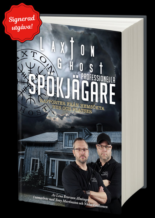 Bok LaxTon Ghost: Professionella Spökjägare – Rapporter från Hemsökta Hus och Platser