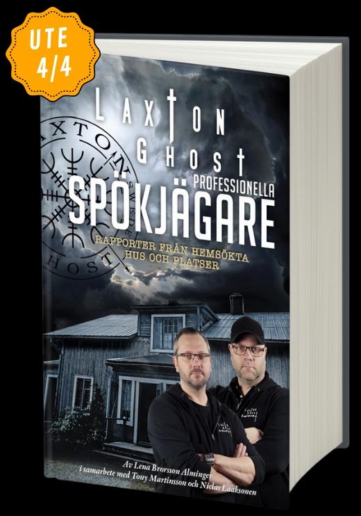 LaxTon Bok LaxTon Ghost - Professionella Spökjägare-ISBN-9789155266189