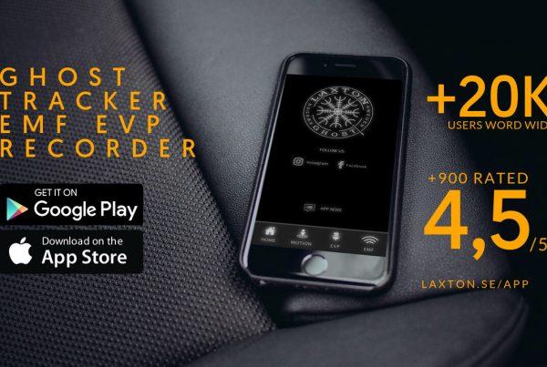 LaxTon App - Ghost Tracker EMF EVP Recorder