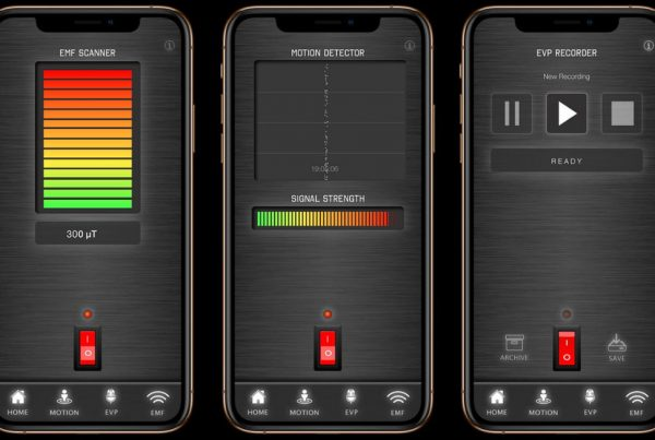 Ghost APP - Ghost Tracker EMF Meter Detector EVP Recorder - LaxTon Ghost Sweden - Download App Store (iOS) Google Play (Android)