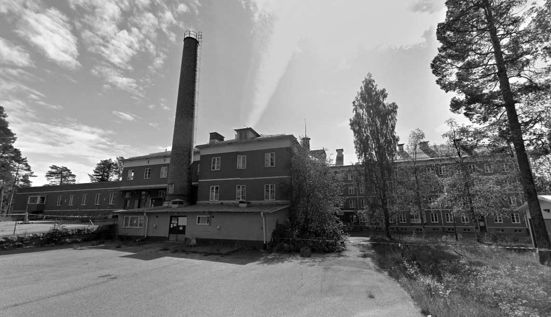 Santräsk Sanatorium – Hemsökt LaxTon