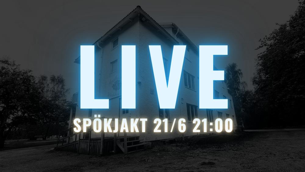 Spökjakt LIVE