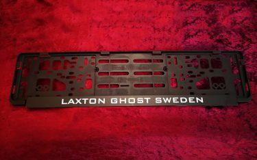 Reglist Registreringsskylt LaxTon