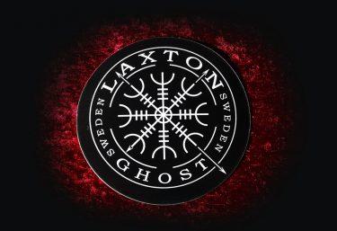 Stort klistermärke LaxTon logotyp