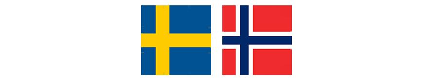 Sverige Norge