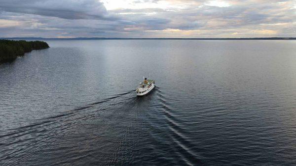 Spökvandring Verkön Båt