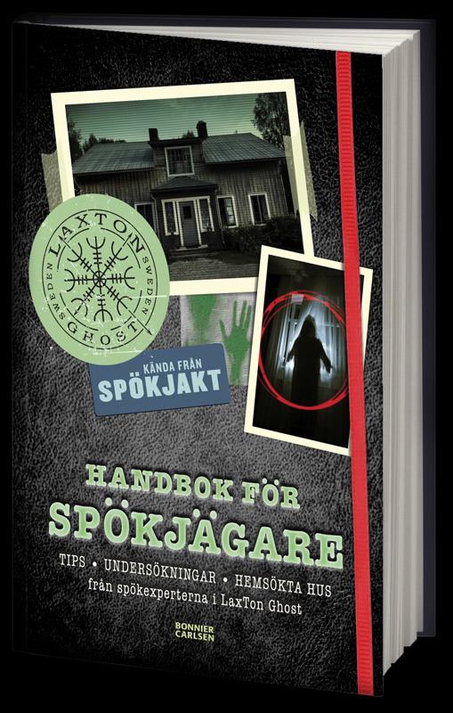 LaxTon Bok Handbok För Spökjägare - SIGNERAD - ISBN 9789179750336
